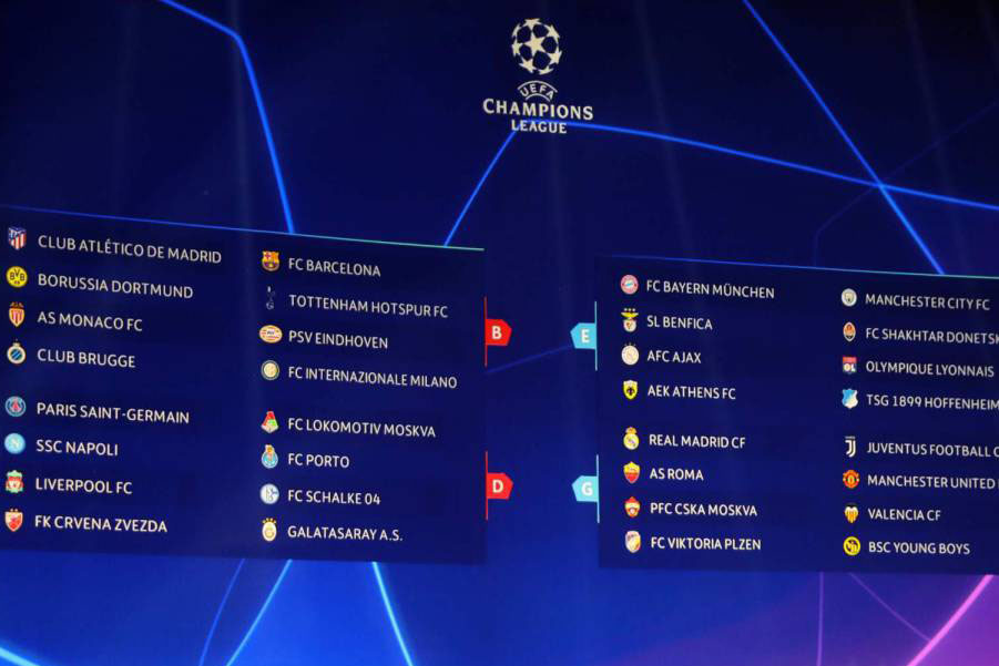 UEFA Champions League :: Livescore API soccer / football